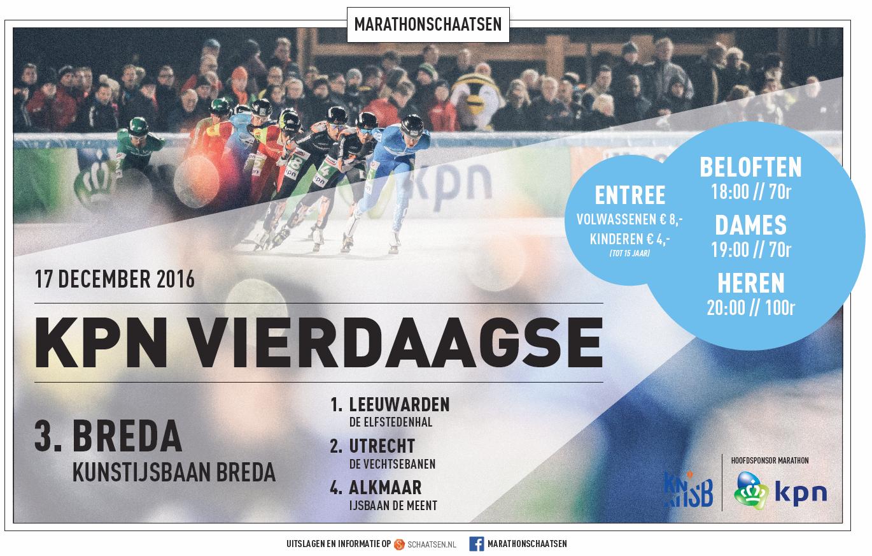 Landelijke marathon in Breda